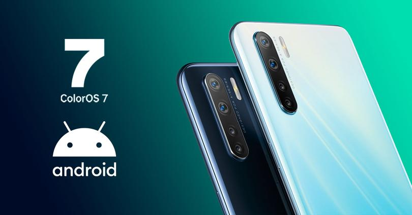 oppo a91 android 10 colorOS 7
