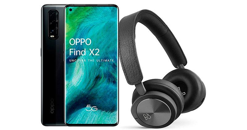 oppo find x2 regalo auriculares
