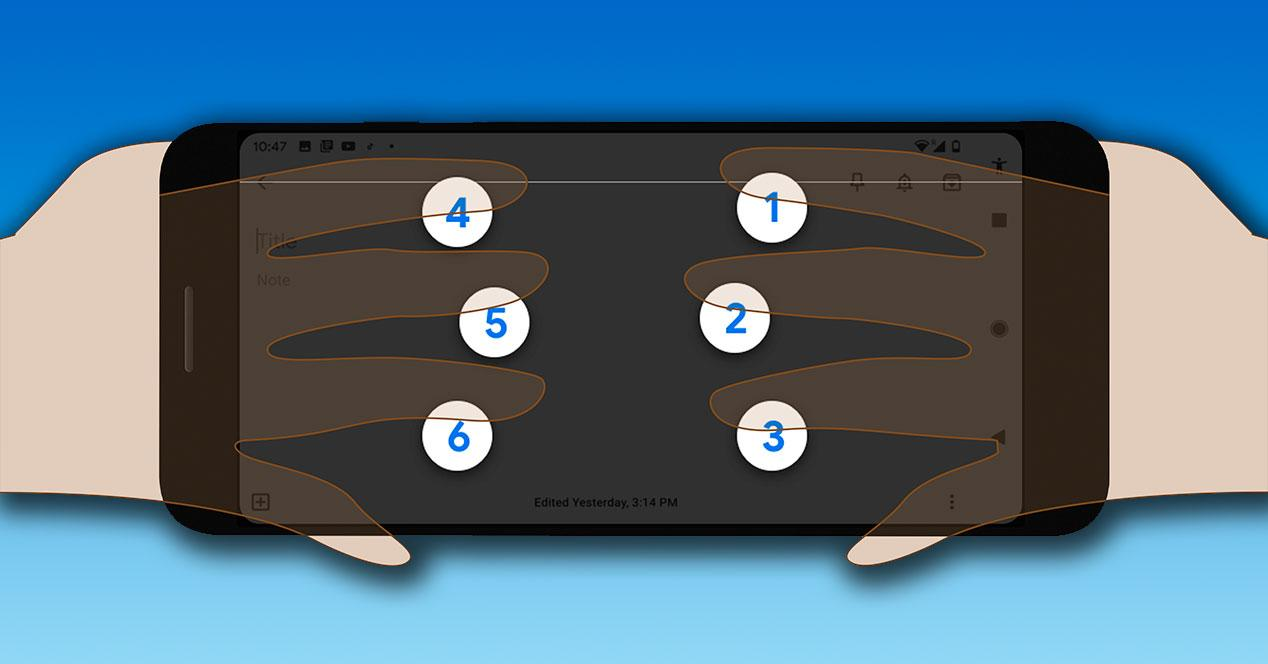 teclado braille android