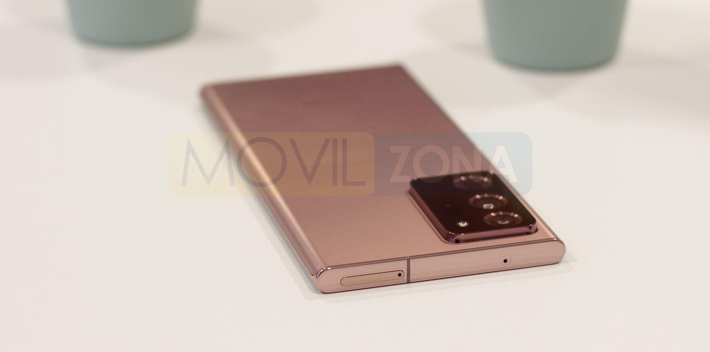 Samsung Galaxy Note 20 Ultra diseño
