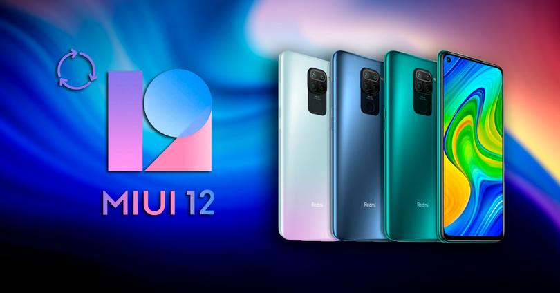 miui 12 redmi note 9