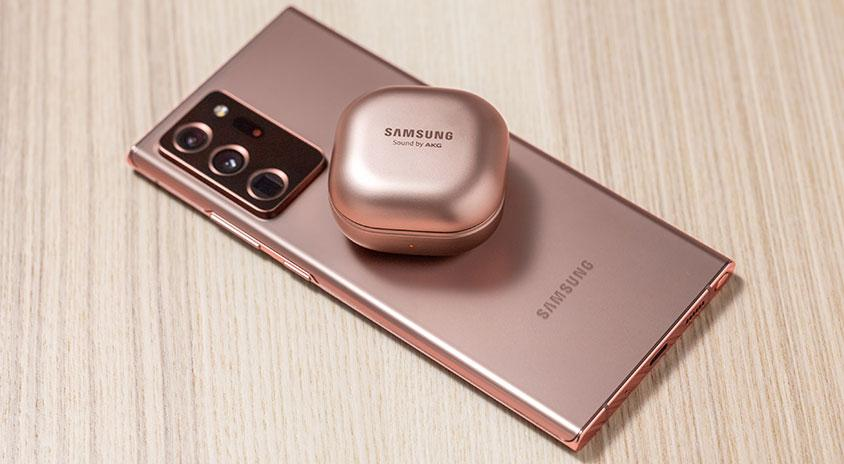 samsung galaxy note 20 ultra galaxy buds live
