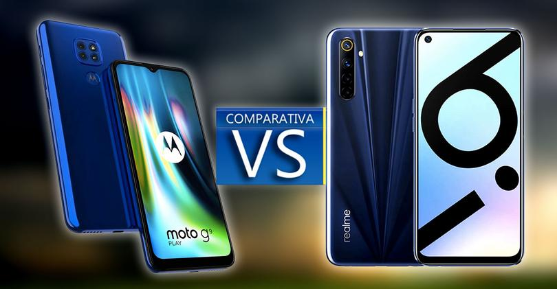 moto g9 play vs realme 6i