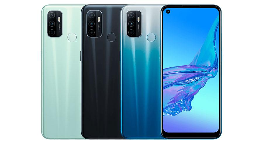 oppo a32 colores