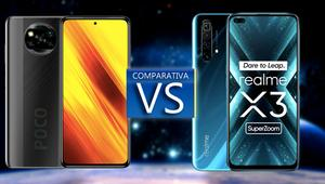 Poco X3 vs Realme X3 SuperZoom. Duelo de alto nivel