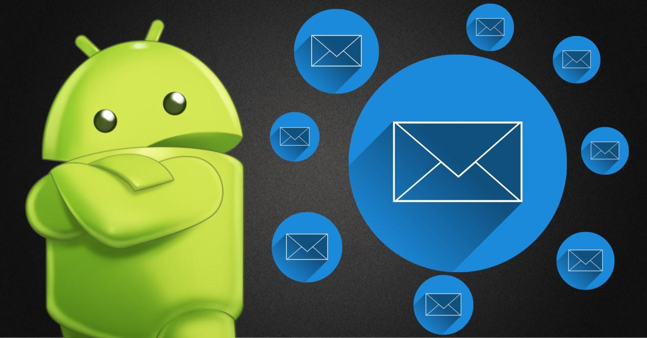 sms y logo android
