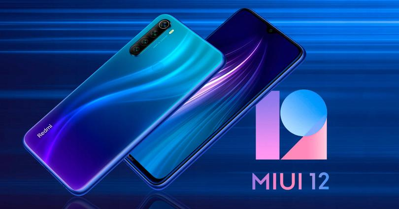 redmi note 8 miui 12