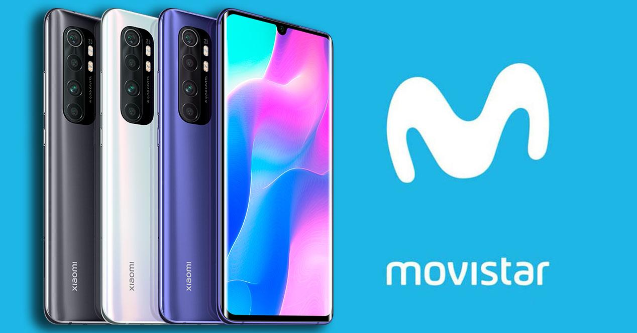 Mi Note 10 Lite Movistar