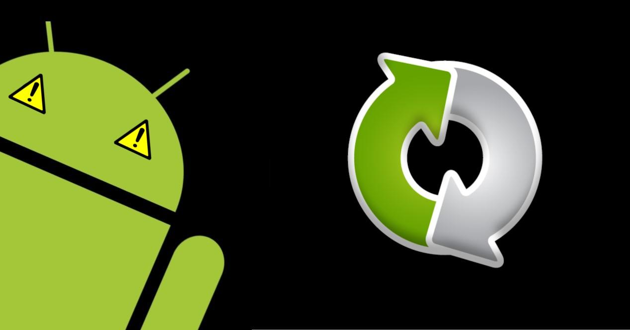 android problemas sincro