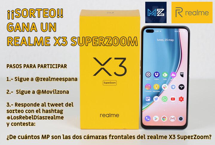 sorteo-realme-x3 superzoom