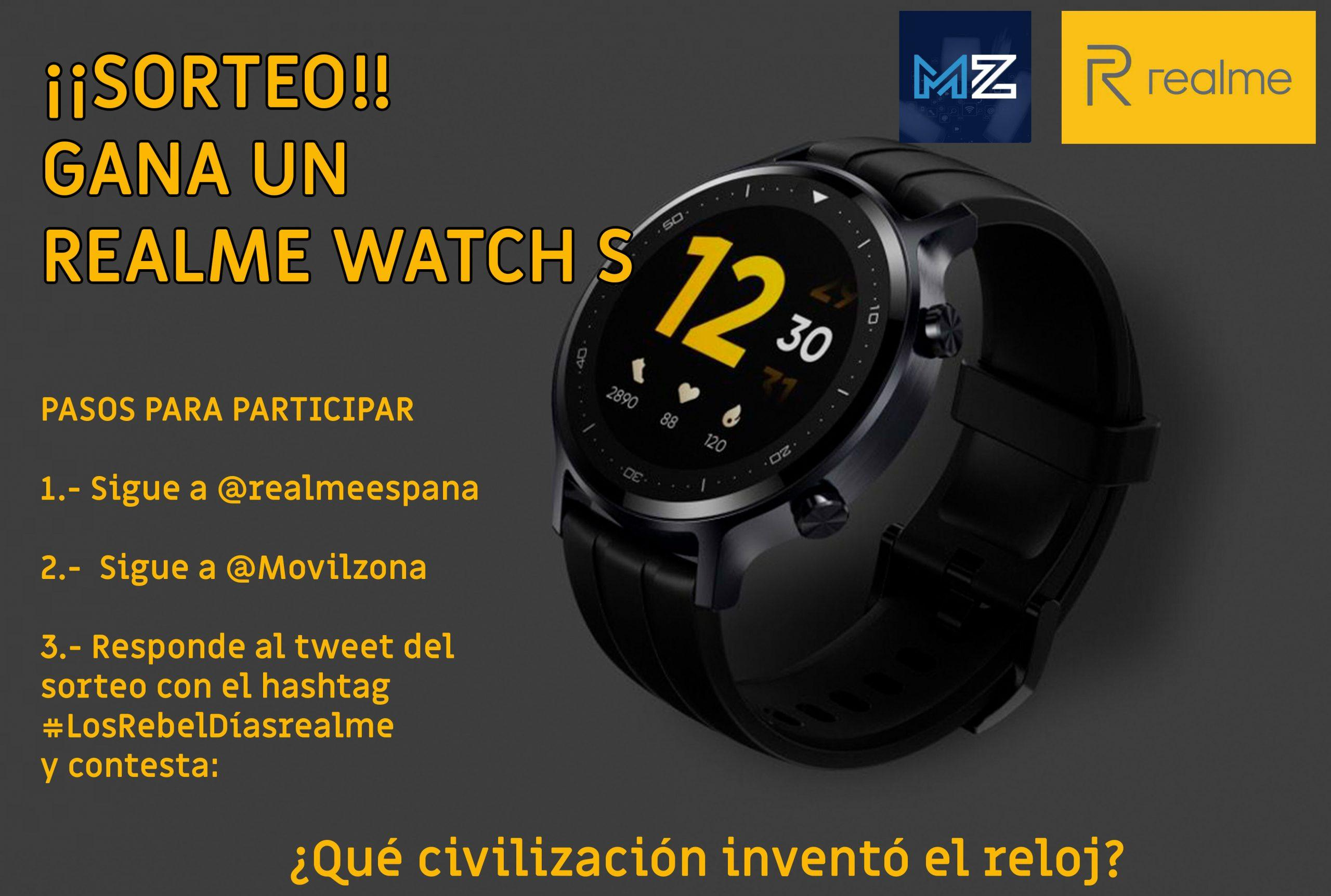 sorteo-realme-watch