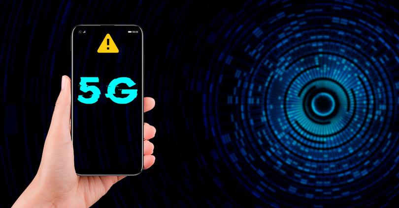 problema movil android red 5g