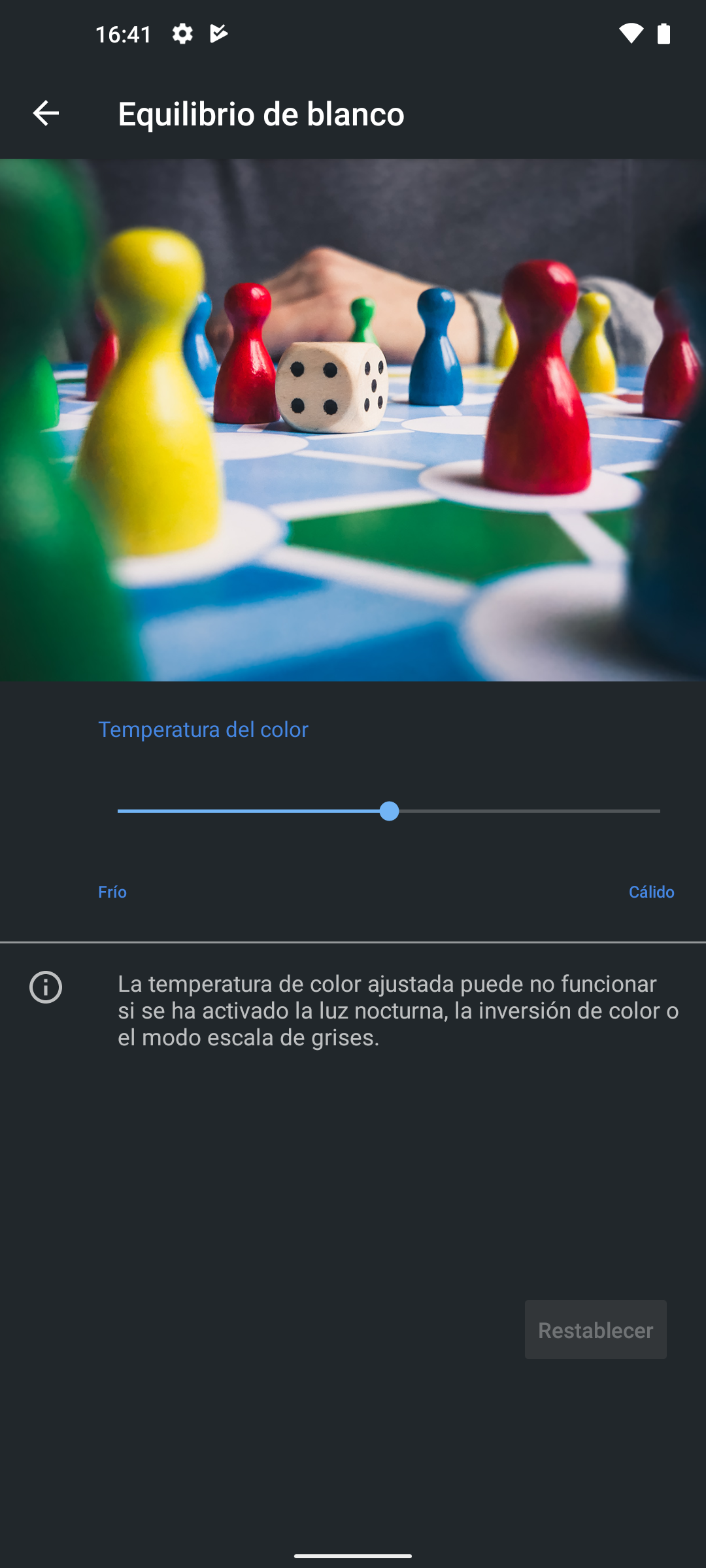 Temperatura color en el Nokia 8.3 5G