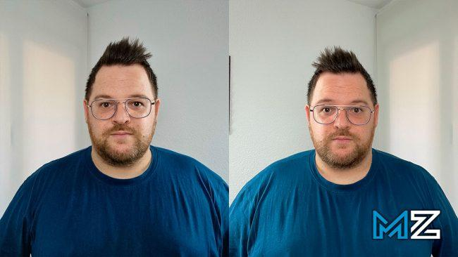 camara galaxy s21 vs iphone 12 pro max x1 selfie
