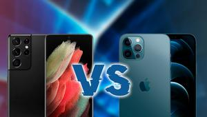 Comparativa de cámaras. Samsung Galaxy S21 Ultra vs iPhone 12 Pro Max