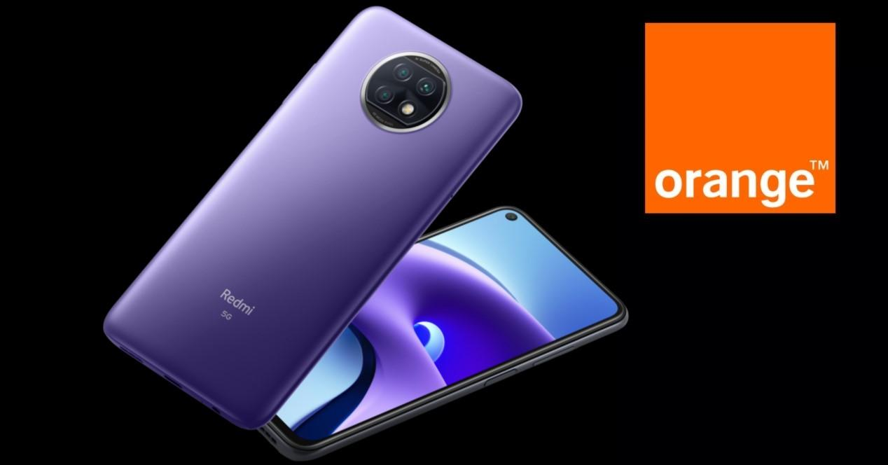 xiaomi redmi note 9t y orange