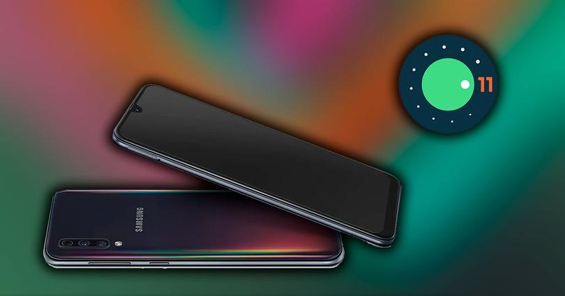 samsung galaxy a50 android 11