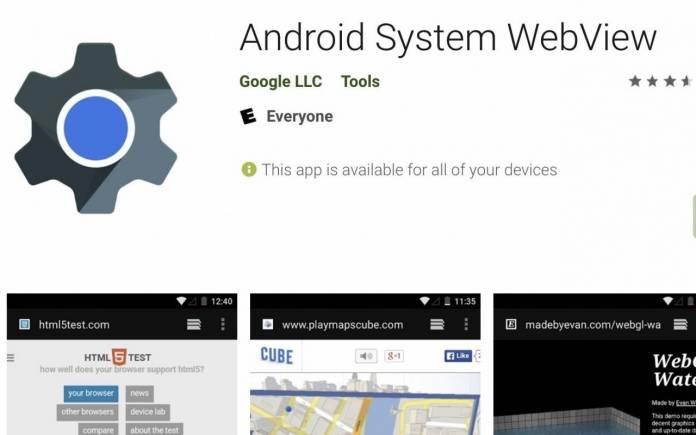 webview android