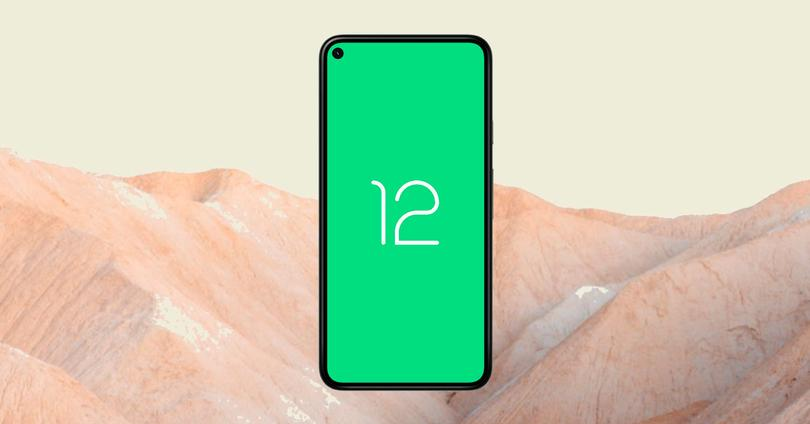 Android 12 móvel