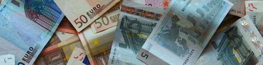 EUROS EN BILLETES
