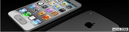 Posible diseño del iPhone 5