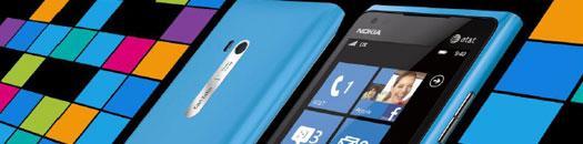Nokia lumia 900 frontal y foto trasera