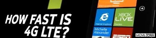 Conectividad LTE del Nokia Lumia 900