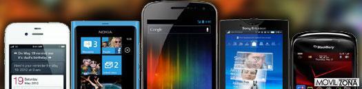Tamaño real de los smartphones