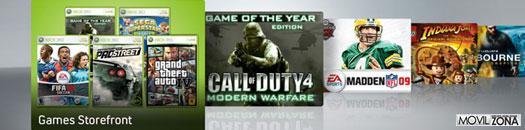 Juegos Xbox Live