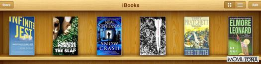 librería de libros electrónicos de Apple