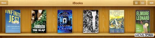 Estadísticas de descargas en iBooks 2