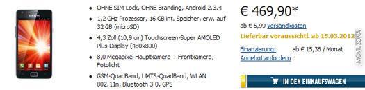 Samsung Galaxy S2 i9100 V2