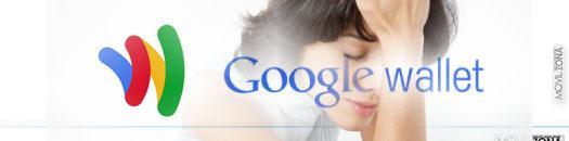google wallet con chica de fondo