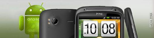 Actualización del HTC Sensation