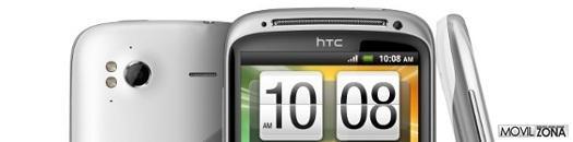 Presentación del HTC Sensation blanco