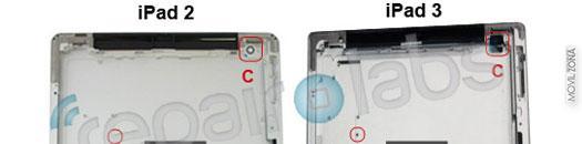 Carcasa del iPad 3