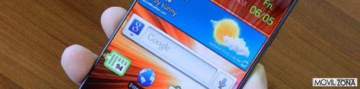 Samsung sin marco para acomodar una pantalla de mayores dimensiones
