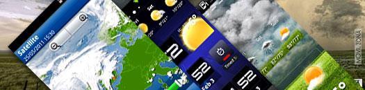 aplicaciones para ver el tiempo en tu android