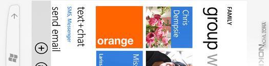 Nokia Lumia 710 en blanco con Orange