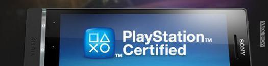 Tienda de juegos PlayStation en Xperia S