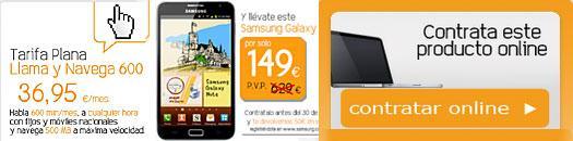 Promociones página web de Jazztel