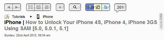 Página web para liberar iPhone 4