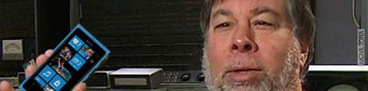 Steve Wozniak habla de Windows Phone