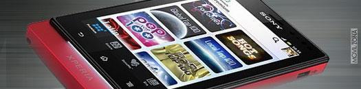 Sony Xperia con pantalla AMOLED