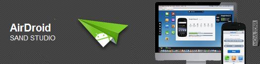 airdroid aplicación para controlar tu móvil desde el ordenador personal