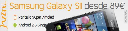Samsung Galaxy S2 con Jazztel Móvil