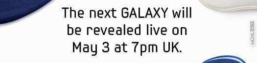 Invitación de prensa del Samsung Galaxy S3