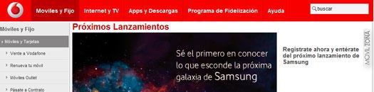 Samsung Galaxy S3 con Vodafone