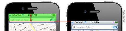 Pantalla del nuevo iPhone