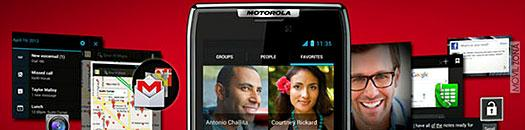 Motorola con ICS